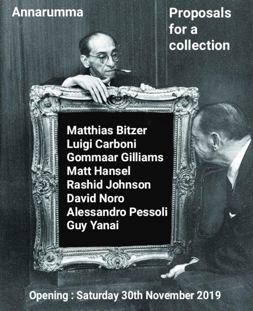 Bitzer, Carboni, Gilliams, Hansel, Johnson, Noro, Pessoli, Yanai - Proposals for a collection